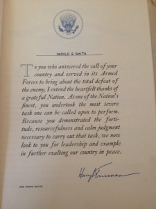Smith - Letter from Truman