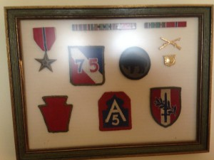 Smith - Unit Insignias and Medals